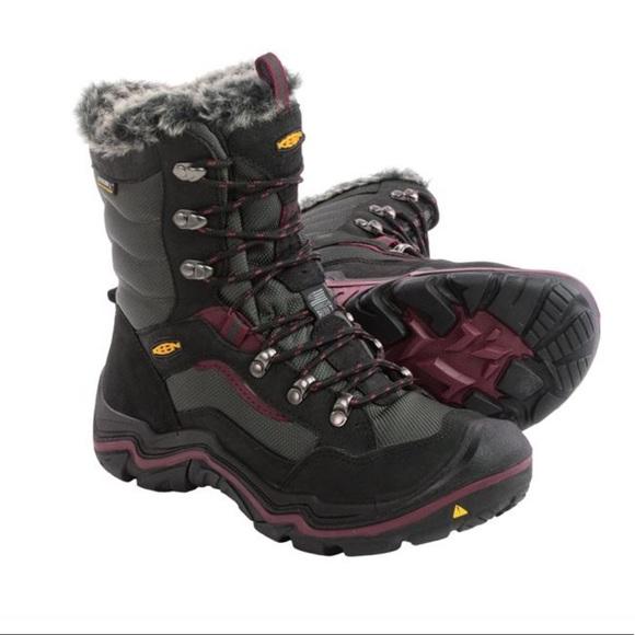 Women's KEEN Durand Polar Snow Boots - Waterproof